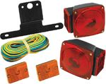 Wesbar 2823285 STRD UNDER 80  TRAILER LIGHT
