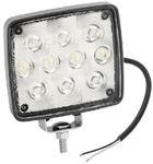 Wesbar 54209-002 WORK LAMP-RECTANGULAR 10 DIODE