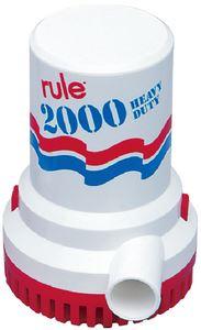 Rule 106UL BILGE PUMP 12V 2000 GPH UL APR
