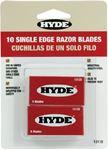Hyde Tools 13110 RAZOR BLADES 10 BLADES/CARD