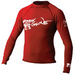 Body Glove Vests 1211J14NN BASIC JUNIOR L/S LYCRA 14 RED