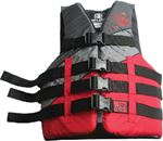 Body Glove Vests 16289-RED-4X6X TWEEDLE PFD RED 4XL/6XL