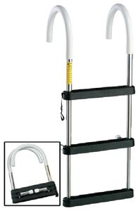 Garelick 06141:01 4 STEP SS TELES HOOK LADDER