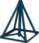 Brownell Boat Stands KS28BASE KEEL STAND 28 -40  BASE