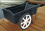Taylor 1060 DOCK CART W-SOLID TIRES