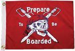 Taylor 1803 PREPARE TB BOARDED 12X18 FLAG