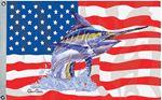 Taylor 1955 FLAG  US/BLUE MARLN 36X60