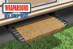 Prest-O-Fit 2-1040 WRAPAROUND STEP RUG ESPRESSO