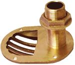 Groco STH-1000-W 1INSCOOP THRU-HULL WITH NUT