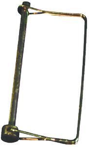 JR Products 1094 1/4  COUPLER LOCK PINCARDED