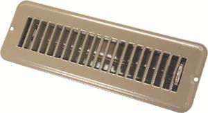 JR Products 02-28915 2X10IN METAL FLR REG DAMPRD BR