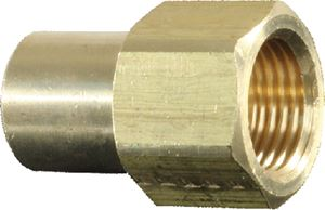 JR Products 07-30225 3/8  FEM FLARE TO 1/4 MPT CONN
