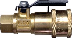 JR Products 07-30435 COUPLER WITH SHUT-OFF
