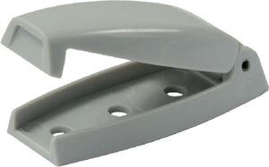 JR Products 10244 BAGGAGE DOOR CATCH GRAY