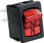 JR Products 12761-5 MINI-ILL ON/OFF 12V RD/BK PK5