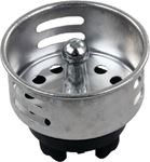 JR Products 95005 PLSTC STRAINER BASKET W/ PRONG