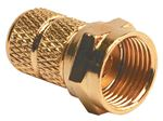 RV Designer T283 CABLE CONNECTORS-RG6 CABLE 2PK