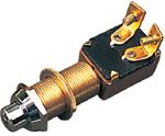 Sea-Dog Line 420420-1 BRASS PUSH BUTTON SWITCH