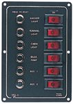 Sea-Dog Line 422800-1 ALUMINUM BREAKER PANEL