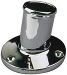 Sea-Dog Line 492212-1 CHROME BRASS POLE SOCKET-1 INC
