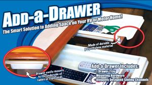 Smart Solutions 0814 WHITE ADD A DRAWER 2X8X17 WHITE