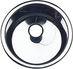 Scandvik 10243 SINK ROUND 13.25X7.25  POLISH