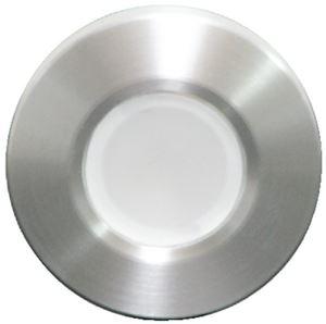 Lumitec 112503 ORBIT FLSH MNT LED WHITE BRSHD