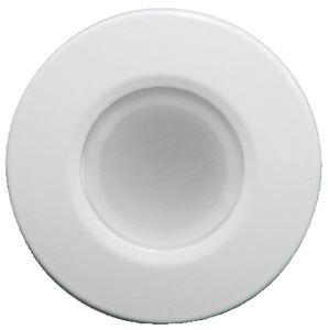 Lumitec 112523 ORBIT FLUSH MNT WHITE WHT HSNG