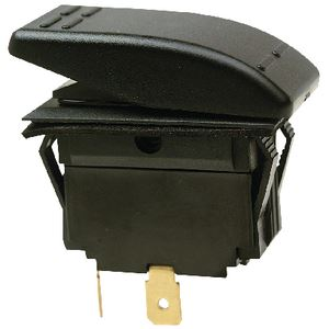 Seachoice 10801 ROCKER SWITCH ON-OFF SPST BLK