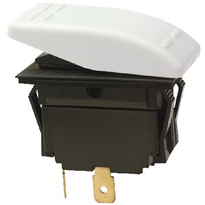 Seachoice 10811 ROCKER SWITCH ON-OFF SPST WHT