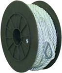 Seachoice 40721 NYLON ANCHOR LINE-WHT-3/8X150'