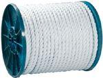 Seachoice 40800 TWIST NYLON ROPE-WHT-3/8X600