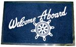 Seachoice 78180 WELCOME ABOARD MAT-NAVY