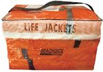 Seachoice EPE1110AK1AUPK40-85510 ORANGE ADULT VEST 4PAK W/BAG