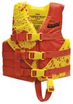 Seachoice 86130 YELLOW/RED DELUXE CHILD VEST 2