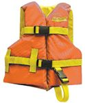 Seachoice 86150 ORANGE/YELLO CHILD VEST 20-25