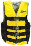 Seachoice 50-86430 BLACK/YEL 4BELT VEST-XX/XXXL