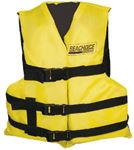 Seachoice EPE2111Y-86520 BLK/YEL 3 BELT VEST YOUTH