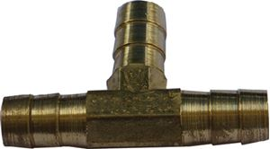 Helix Racing Products 053-1470 HOSE SPLICER BRASS 3/16  3WAY