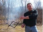 The Perfect Campfire Grill 1061 LOG TWEEZERS
