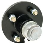 Fultyme RV 1053 CAST WHEEL HUB 1  4-STUD PAINT