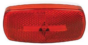Fultyme RV 1104 MARK LIGHT OVAL RV RED