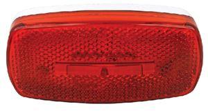 Fultyme RV 1107 LED MARK LITE OVAL RED
