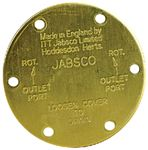 Jabsco 11830-0000 END COVER FOR #11810