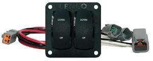 Lenco 10221211D SWITCH KIT-DBL ROCKER DUAL ACT
