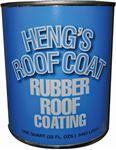 Heng's 46032 QUART RUBBER ROOF COATING WHT
