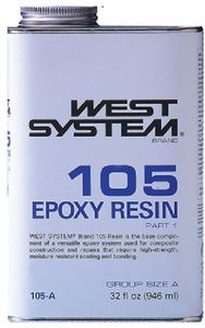 West System 105B RESIN - .98 GALLON