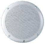 Poly-Planar MA4056W 6 WHITE ROUND GRILL SPKRS-80