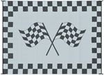 Ming's Mark Inc RF-8201 8X20 PATIOMAT RACING FLAG