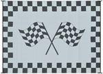Ming's Mark Inc RF-9121 9X12 PATIOMAT RACING FLAG